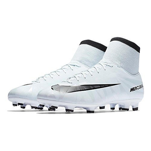 black Nike Football blue De Cr7 white Blue Victory Df Chaussures Mercurial Vi Fg Tint Homme SUcqfSW7wT