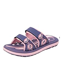GP Double Adjustable Strap Outdoor/Water Slide Sandals for Kids, Women & Men (Size: T10 & up)