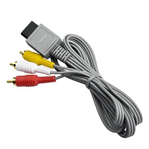 Insten AV Composite Cable Compatible With Nintendo Wii U