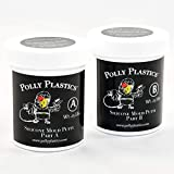 Polly Plastics Silicone Molding Putty - 1/2 Lb - for Moldable Plastic | Wax | Clay | Urethane and Epoxy Resins...
