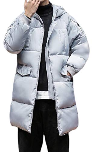 Outdoors Zip Peacoat Puffer Oversize Jacket Grey Front Winter Mens Gocgt Jacket qtOfqY