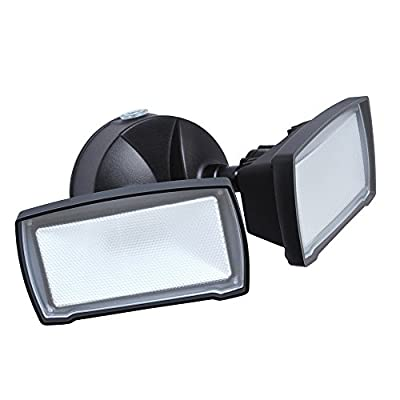 Good Earth Lighting Two-Head LED Dusk To Dawn Security Light -