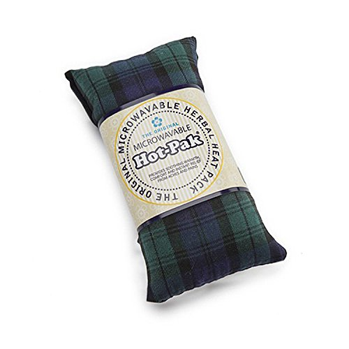 Hot-Pak Microwavable Tartan Heat Pack With A Lavender Scent, 90 Second Warm Up, Blackwatch (Hot Pak)