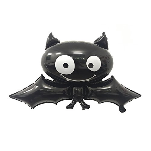 Aland Halloween Foil Balloon Bat Skull Pumpkin Spider Festival Bar Home Party Decor -