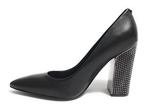 Guess - Zapatos de vestir de Piel para mujer negro negro