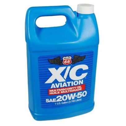 Phillips 66 X/C Aviation Oil 20w-50 Engine Oil - 4/1 gal. case