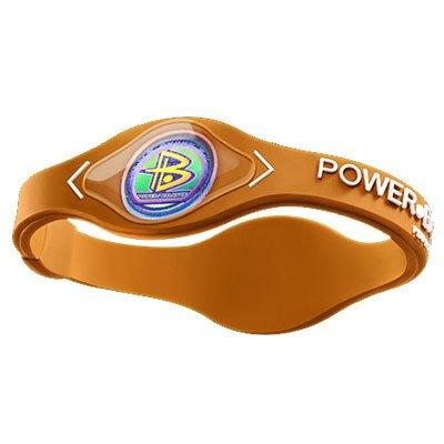 Power Balance Wristband Orange/White Sm