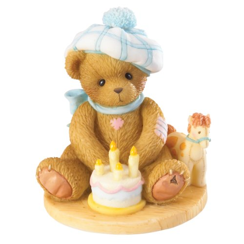 Cherished Teddies Age 4 Happy Fourth Birth-Neigh Through the Years Series 4020575 - NEW!]()
