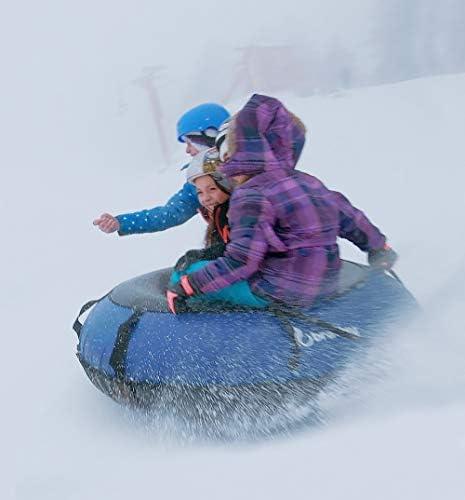 COLOSSAL Inner Tube Snow Tube Combo Sled Sledding Snow Tubing  Clear Creek Tubes