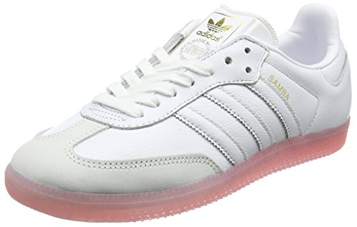 Basses Pink White Samba easy Femme Adidas Blanc footwear White footwear p5wvAxzqxH