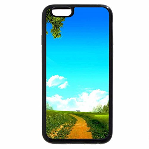 iPhone 6S / iPhone 6 Case (Black) Mill on a summer day