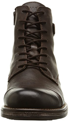 Jack & Jones Jjsiti Leather Boot Brown Stone, Bottes Homme - Marron (brown Stone), 46 EU
