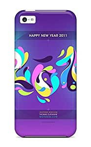 MICHELLE KATSERES's Shop Happy New Year 2011 Hd Case Compatible With Iphone 5c/ Hot Protection Case 3499783K31514138