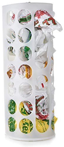 Grocery Bag Storage Holder - This Large Capacity Bag Dispenser Will Neatly Store Plastic Shopping Bags and Keep Them Handy for Reuse. Access Holes Make Adding or Retrieving Bags Simple and Convenient. ()
