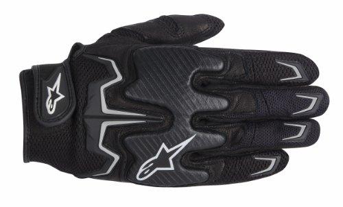 Alpinestars Fighter Men's Street Motorcycle Gloves – Black / Medium