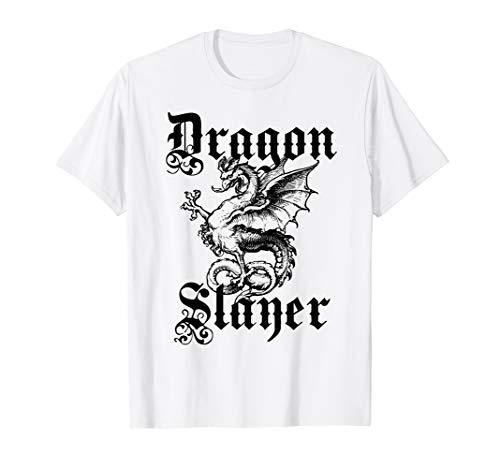 Dragon Slayer T-shirt - Dragon Slayer Medieval and Renaissance T Shirt