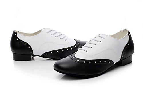 Zioso QJ9010 Mens Lace-up Leather Modern Salsa Tango Ballroom Latin Dance  Shoes: Amazon.ca: Shoes & Handbags