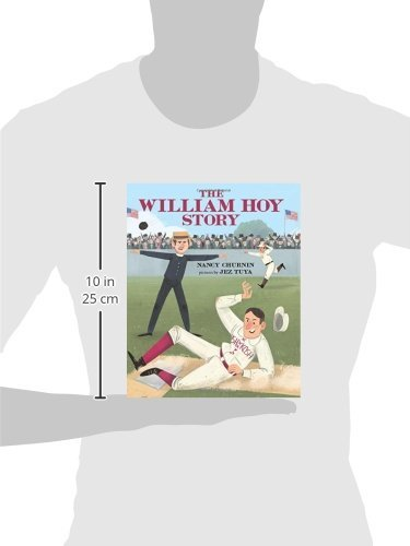The William Hoy Story: How a Deaf Baseball Player Changed the Game by Albert Whitman Company (Image #2)