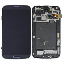 Generic LCD Touch Screen Digitizer Assembly Replacement with Frame for Samsung Galaxy Mega 6.3 i9200 i9205 Blue