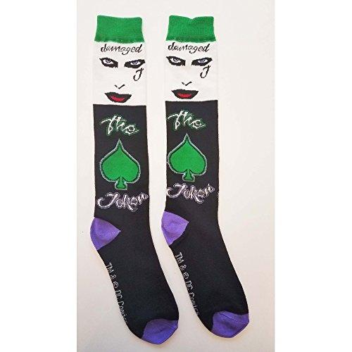 Suicide Squad Joker Crew Socks,Black, US Shoe: 4-10 from Suicide Squad