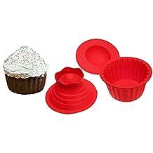 Jumbo Cupcakes Bake Set - 25x Bigger Than a Big Cupcake!