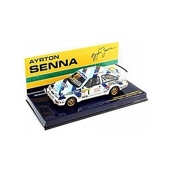 Minichamps 540864399 - Modelos de réplica para Ford Sierra RS Cosworth Ayrton Senna (Escala 1:43): Amazon.es: Juguetes y juegos