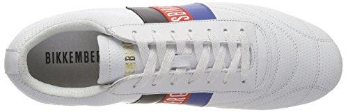 Bikkembergs Soccer 2102, Sneaker Uomo Bianco