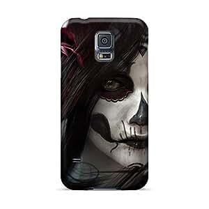LauraFuchs Samsung Galaxy S5 Shockproof Hard Phone Covers Customized Fashion Lacrimosa Band Series [SQZ497VRyR]