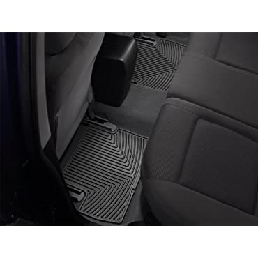 WeatherTech W191-W192 2010-2011 Cadillac SRX Black All Weather Floor Mats Rows 1 2