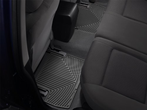 WeatherTech All-Weather Trim to Fit Rear Rubber Mats (Black) - W50 by WeatherTech