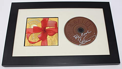 (R. Kelly Chocolate Factory Signed Autographed Music Cd Compact Disc Custom Framed Display Loa)