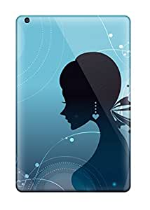Girl Cartoon Cases Compatible With Ipad Mini/ Hot Protection Cases
