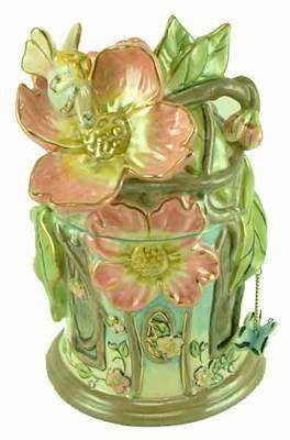 Courtney's Candles Dogwood Blossoms Fragrance Lamp House - Clayworks Limited Edition