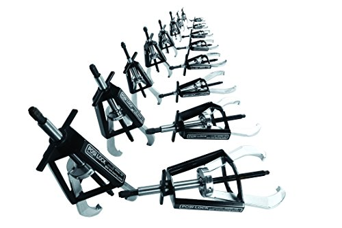 Posi Lock MPS16 Master Puller Set, Includes All 16 Manual Pullers and Tip Protectors, Steel -