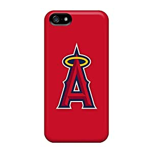 AlissaDubois Iphone 5/5s Bumper Hard Cell-phone Case Allow Personal Design Fashion Baseball Los Angeles Angels 2 Image [Plr10041acvi]