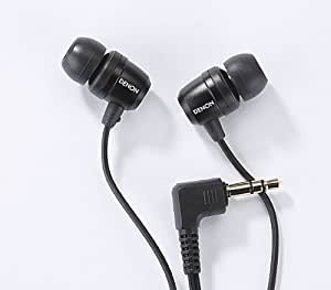Denon AH-C551K In-Ear Headphone (Discontinued by Manufacturer)