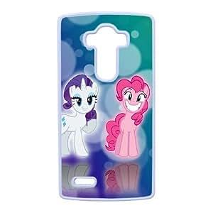 caja del teléfono celular LG G4 funda blanca mi pequeño pony D4C1GZ