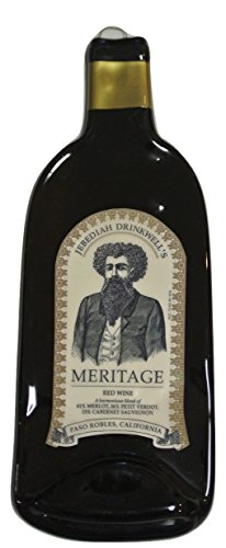 Jebediah Drinkwell's Meritage Melted Wine Bottle Cheese Serving Tray - Wine Gifts