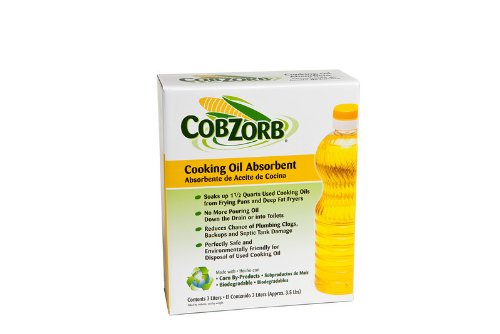 Price comparison product image Cobzorb CZO-box 3.5 lbs Box Cooking Oil Absorbent
