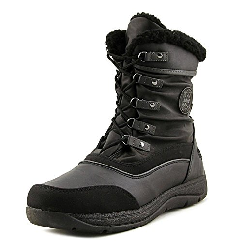 Totes Womens Vail Black Snow Boot | Waterproof Soft Sole All Weather Boot, Size - 7M (Available in Wide Width) ()
