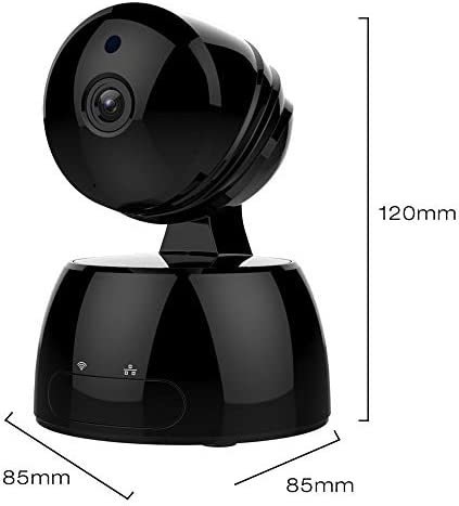 Wireless IP Camera,GAKOV GA829X WiFi 1080P HD Security Surveillance Camera for Baby/Pet/Nanny with Night Vision & Motion Detection- Cloud Service Available-Black