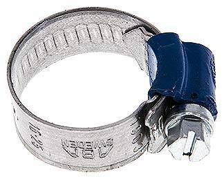 12mm Schlauchschelle 16-25mm ABA Werkstoff:Stahl verzinkt Stahl verzinkt ABA W1 SW:7 W1