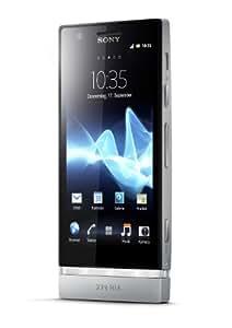 """Sony Xperia P - Smartphone libre (pantalla táctil de 4,0"""" 540 x 960, cámara 8 Mp, 16 GB, 2 procesadores de 1 GHz, 1 GB de RAM, S.O. Android 2.3), plata"""