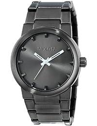 Nixon - Reloj de cuarzo japonés para hombre, acero inoxidable, diseño de cañón A160
