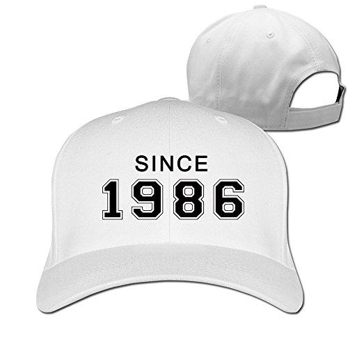Men's Since 1986 30th Birthday Gift Adjustable Flexfit