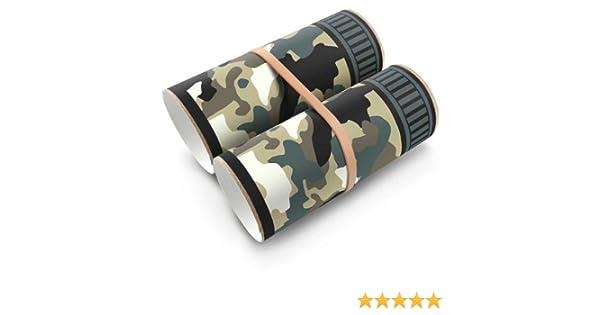 Amazon.com: Box Play for Kids Green Camo Binoculars Toilet Paper ...