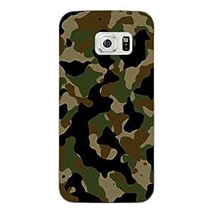 "'Disagu Design Case Carcasa para Samsung Galaxy S6Carcasa–Diseño Camuflaje Verde"""