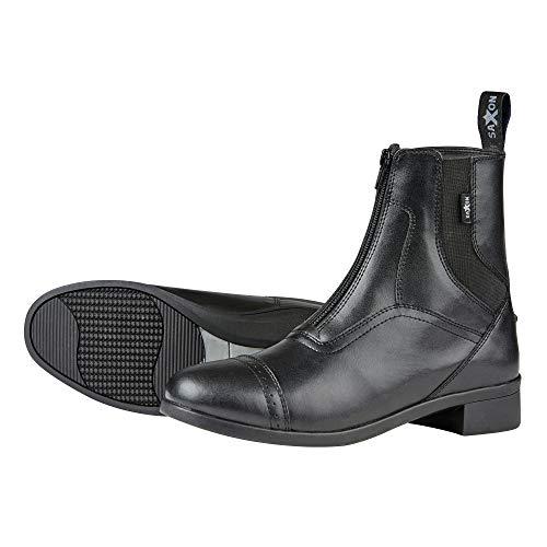 Saxon Unisex Syntovia Zip Paddock Boots (11.5 US) (Black)