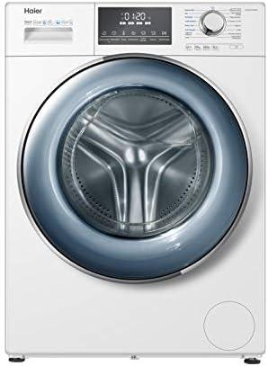 Haier HW100-B14876 Waschmaschine Frontlader / 10 kg / Besonders leise / 118 kWh/Jahr / Direct Motion Motor / XL-Trommel / ABT / Dampf-Funktion / Vollwasserschutz