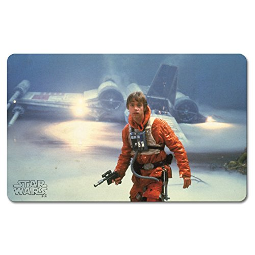 Star Wars Frühstücksbrettchen - Krieg der Sterne - Luke Skywalker - X-Wing - Lizenziertes Originaldesign - LOGOSHIRT